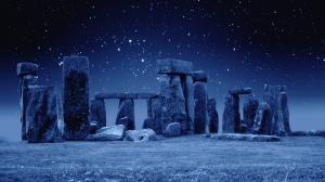 stone henge winter