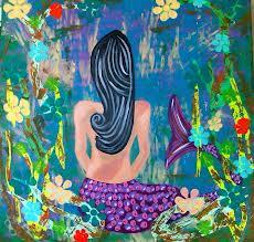 mermaid meditation by Sofia